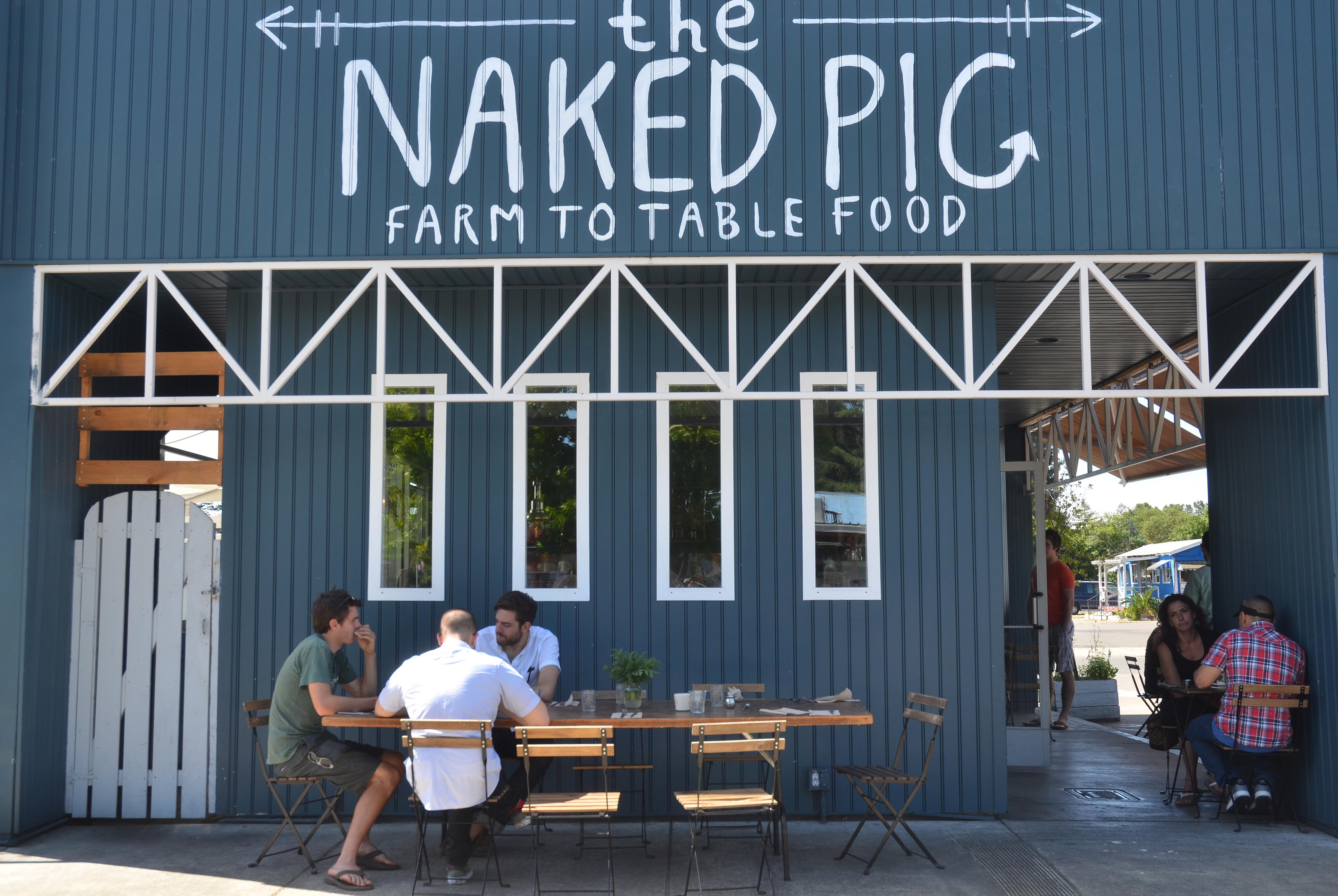 Glorious Community, Delicious Food at The Naked Pig