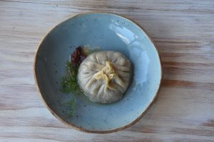 Flower + Bone – Dumpling aka momo