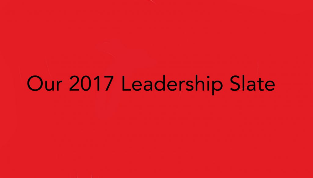 Slow Food Russian River 2017 Leadership Slate