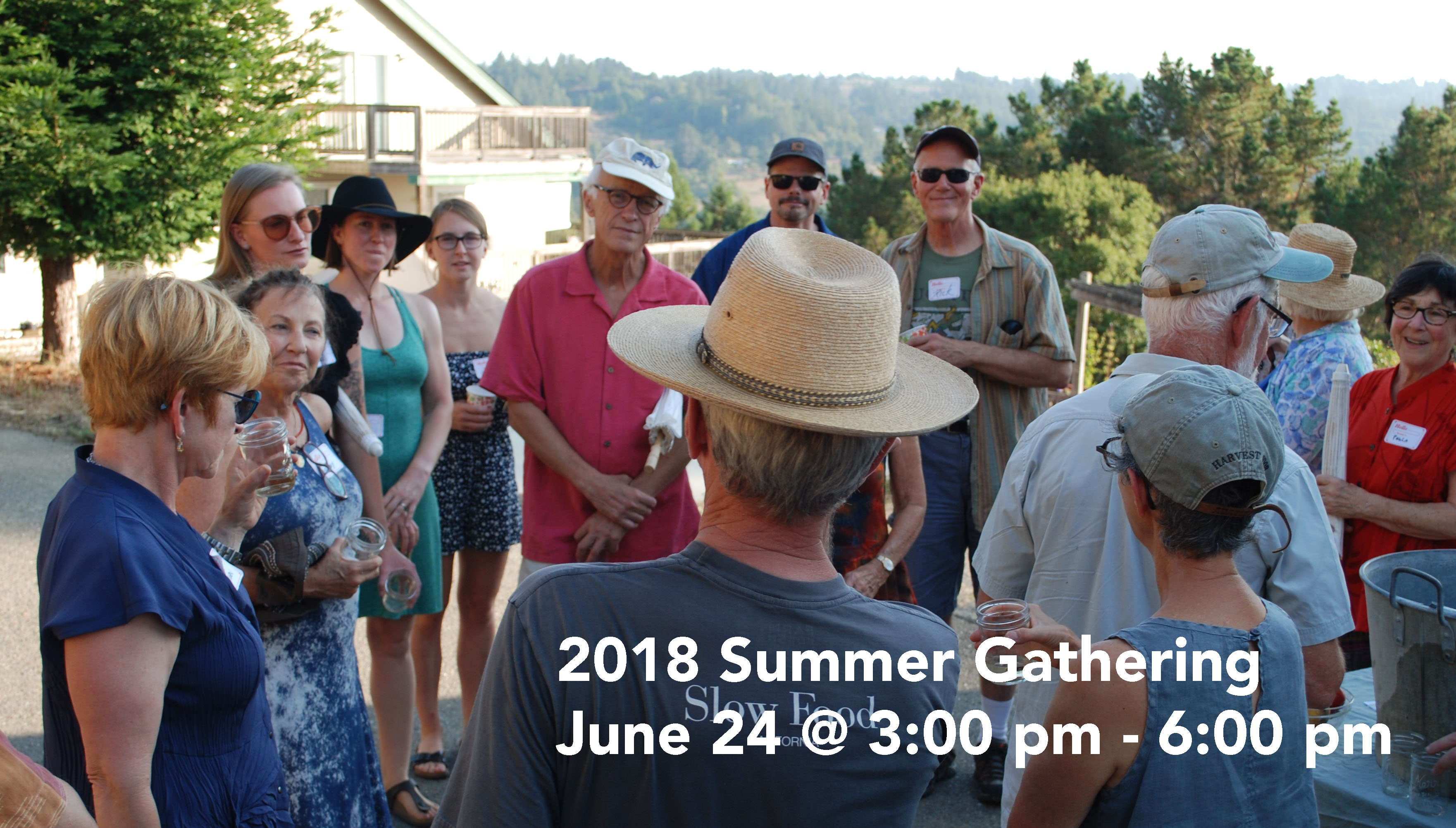 2018 Summer Gathering June 24 @ 3:00 pm - 6:00 pm